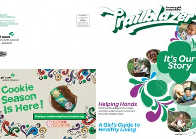 Girl Scouts Trailblazers Magazine Cover